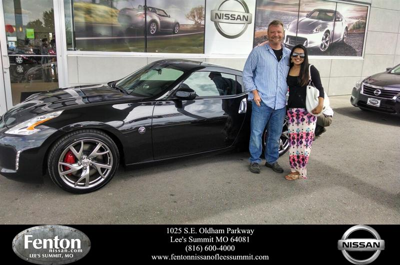 We bought 2 cars from Fenton Nissan of Lee's Summit, a