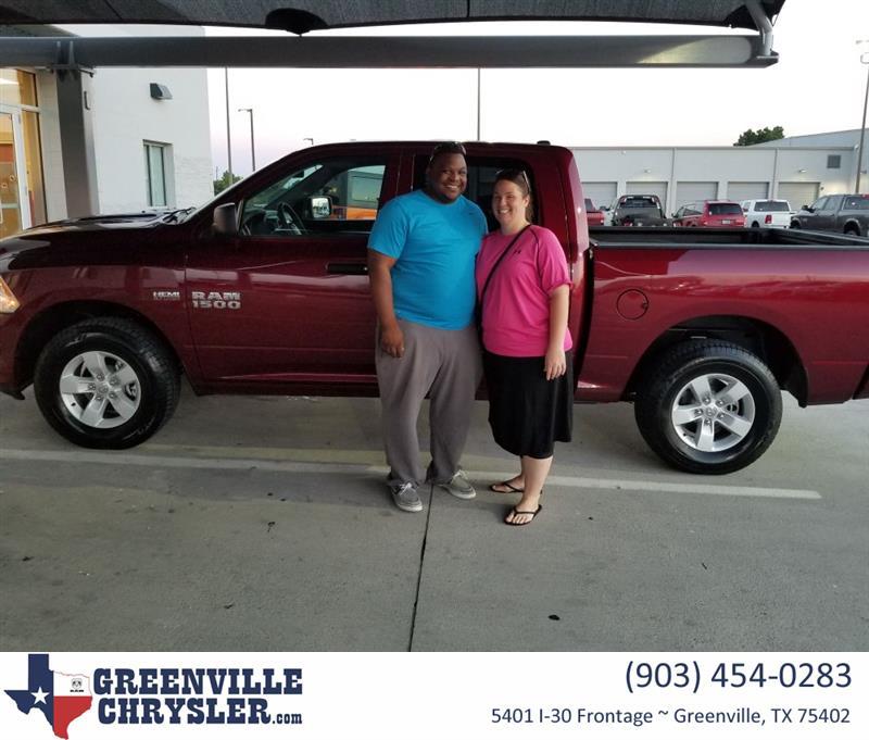 truck greenville reviews customer cars page testimonials used texas jeep car ram chrysler dodge dealer