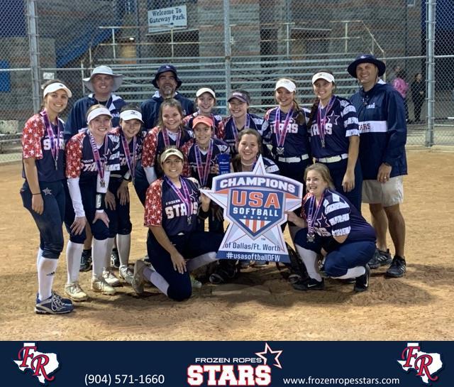 Frozen Ropes Stars Asa Girls Select Softball Page 1