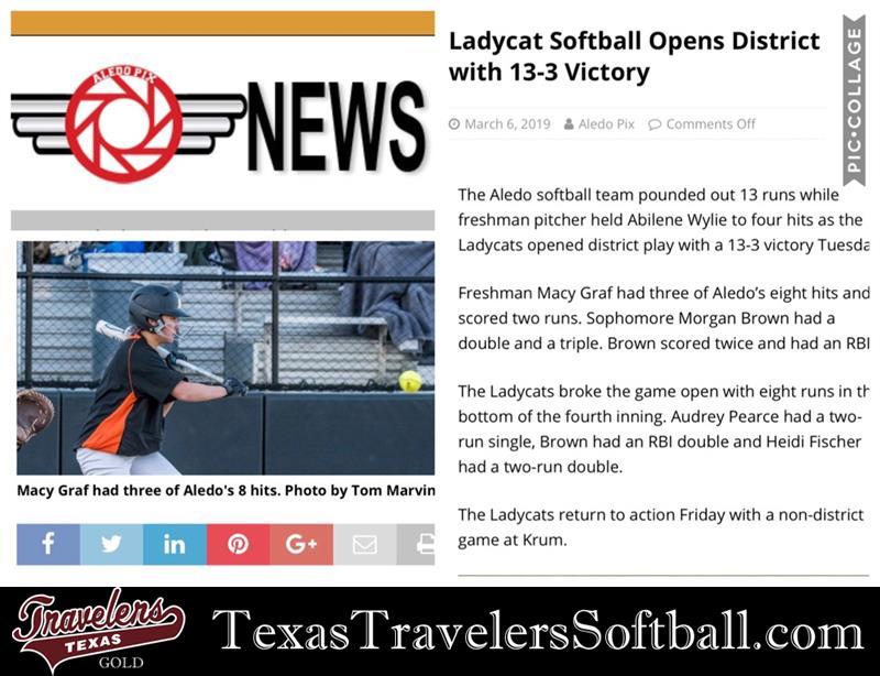 04 Texas Travelers | USA Girls Select Softball | Page 6