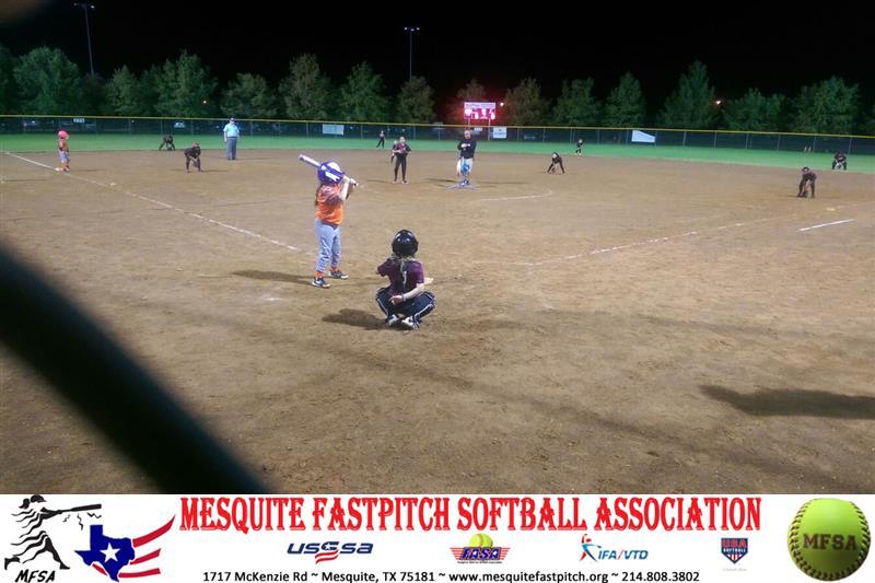 Mesa softball forney