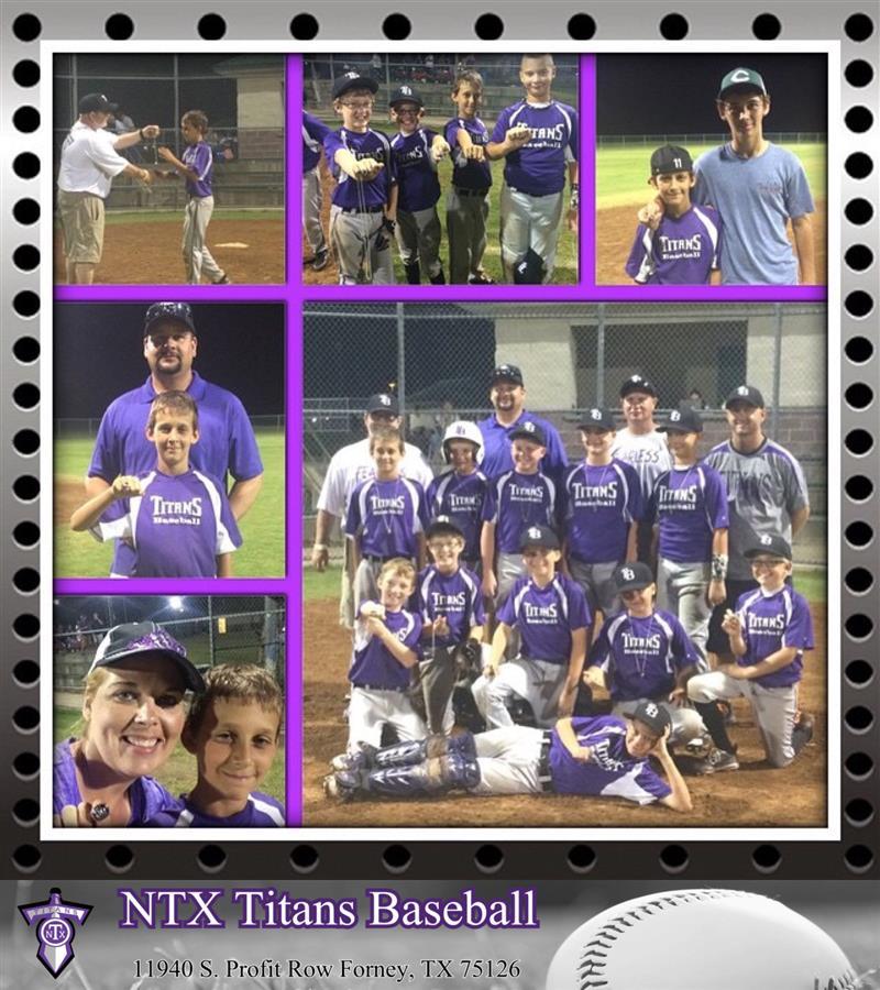 NTX Titans Baseball   Premier Youth Baseball Program